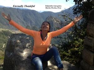 Machu Picchu - Thankful